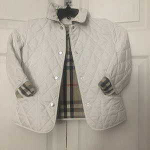 Burberry Jackets & Coats - Child 💯 authentic Burberry jacket size 8y...